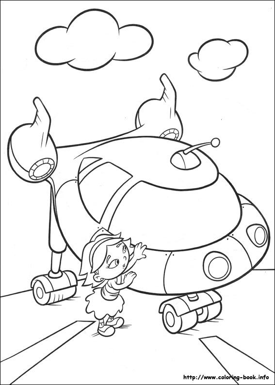 Little Einsteins Coloring Picture Katia Divine Little