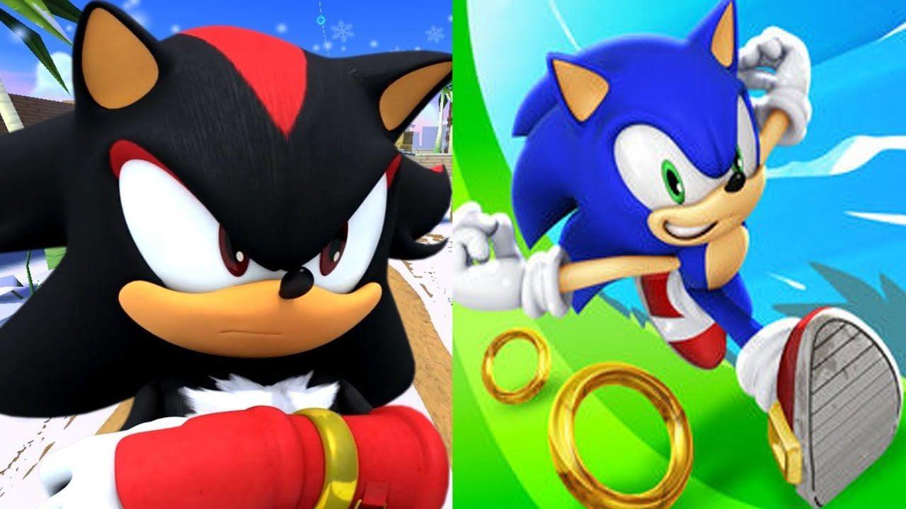 Sonic Dash Vs Sonic Dash 2 Sonic Boom Walkthrough Gameplay