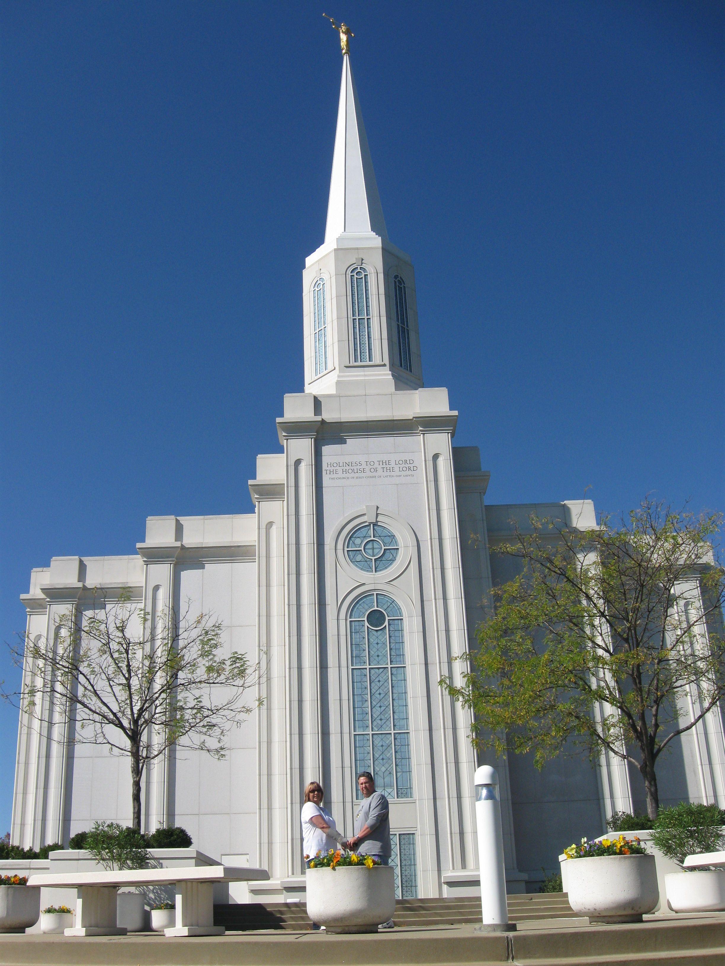 St Louis Mormon Temple St Louis, Missouri WHEN THIS TEMPLE