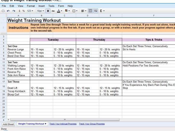 50 time-saving Google Docs templates | Daily Workout Routine | Docs