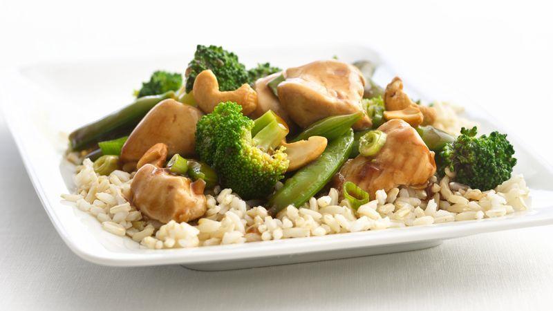 Skinny Cashew Chicken And Broccoli  Recipe  Cashew -1498