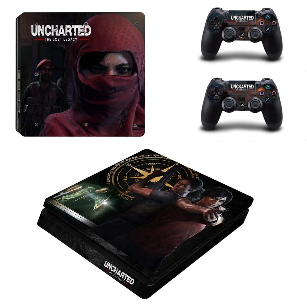 Uncharted The Lost Legacy Nadine Chloe Hunting Ps4 Slim Skin Ps4 Slim Ps4 Games