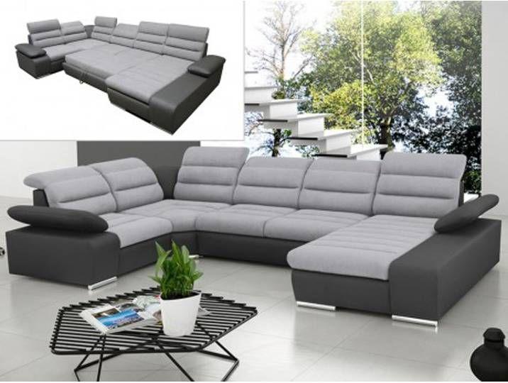 Xxl Wohnlandschaft Schlafsofa Willis Braun Couch Sofa Furniture