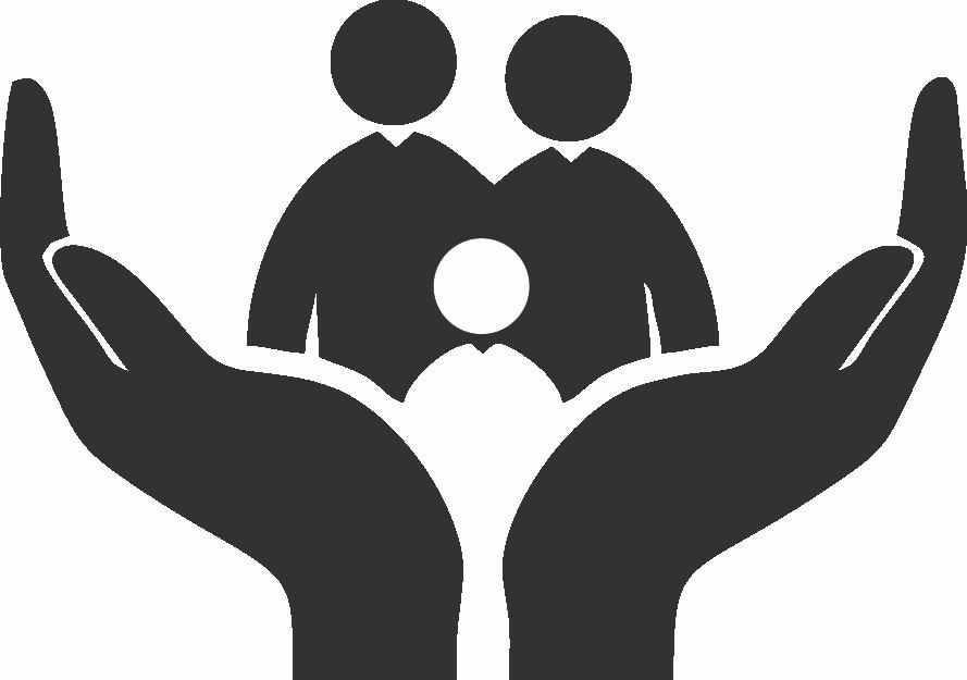 Happy Family Flotter Png 889 625 Schule Logo Schwarze Silhouette Scherenschnitt