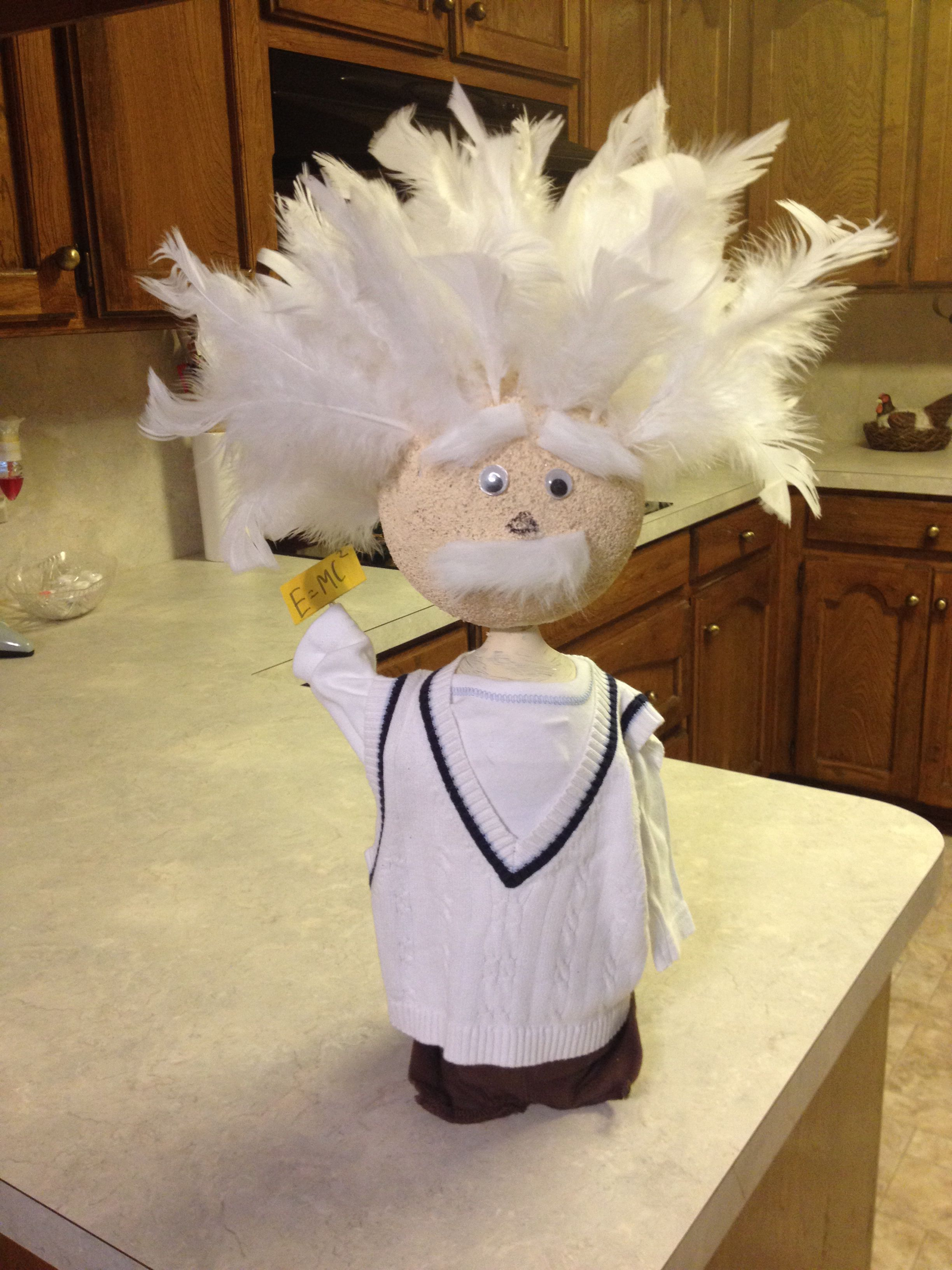 Albert Einstein Coke Bottle Biography Project