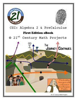 Csi algebra 2 pre calculus curriculum bundle 9 crime scene csi algebra 2 pre calculus stem project complete ebook fandeluxe Choice Image