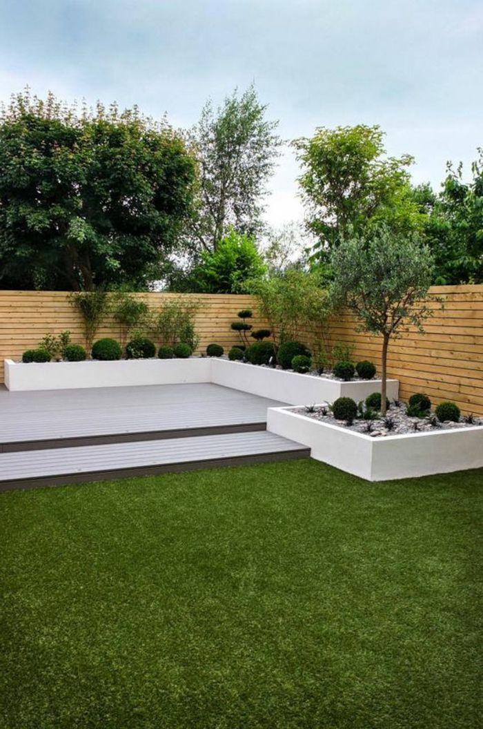 80 ideen wie ein minimalistischer garten aussieht idea for Minimalistischer vorgarten