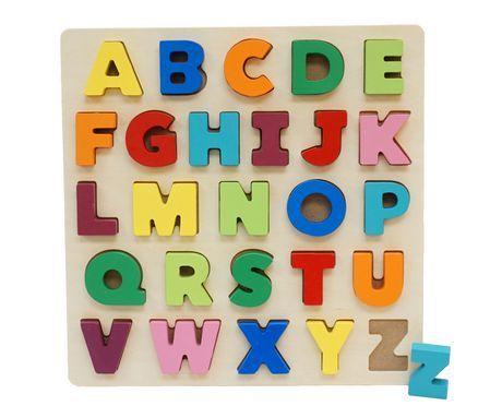 Spark Create Imagine 3D Wooden Alphabet Puzzle   LFCA-EY