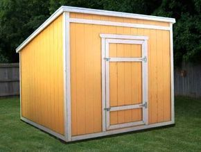 8x8 Lean To Shed Plans 8 X 8 Lean To Shed Plans Lean To Shed