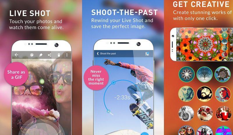 تعرف على أفضل 7 تطبيقات لإنشاء الصور المتحركة Gif للأندرويد والأيفون نيوتك New Tech Perfect Image Touching You The Past