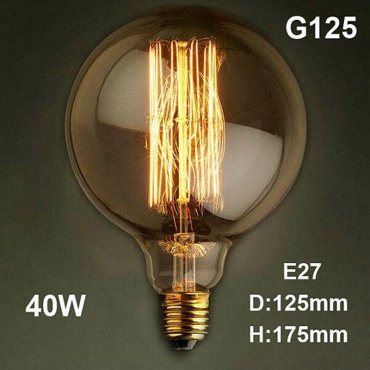 LED Antique Retro Vintage Edison Light Bulb E27 40W 220V