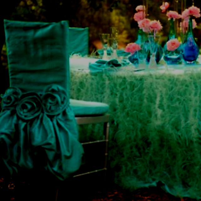 Beautiful Chair Cover In Emerald Green Chair Covers Green