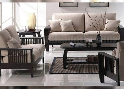dekorasi meja dan kursi ruang tamu minimalis - meja serta