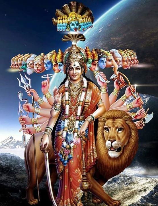 Hindu Goddess powerful of all Goddess is Adi Parasakthi