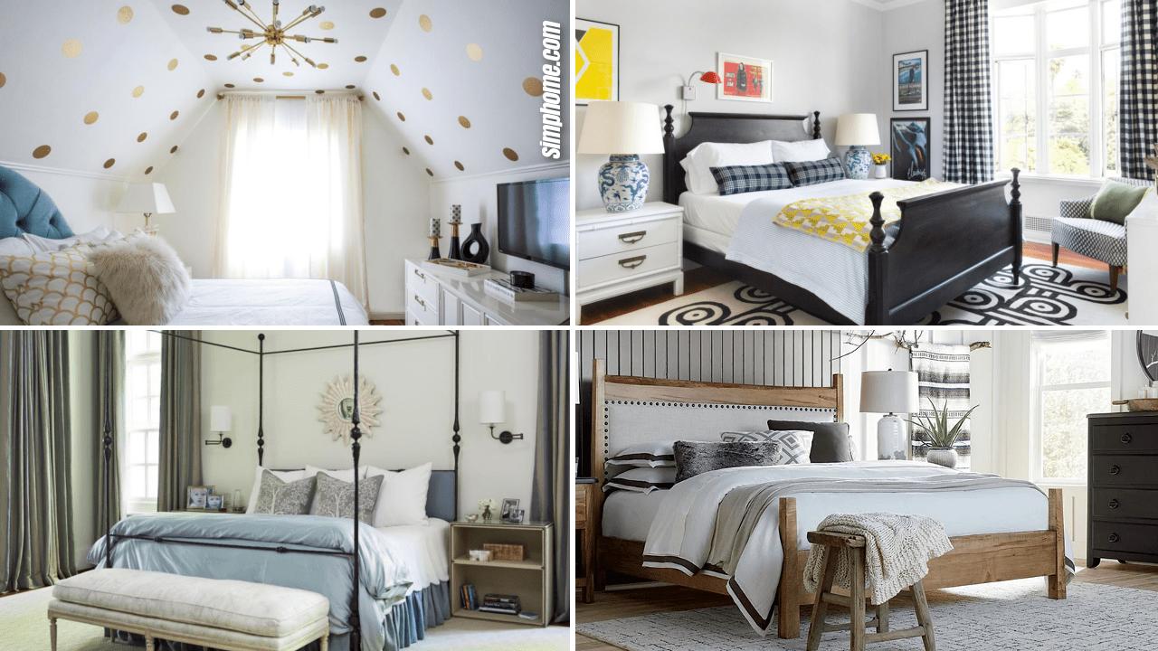 10 Small Bedroom Arrangement Ideas - Simphome   Bedroom ...