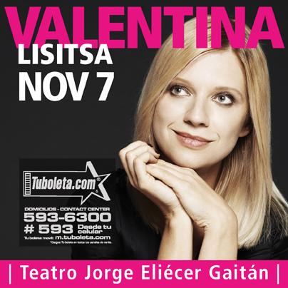 Valentina Lisitsa Colombia  2013