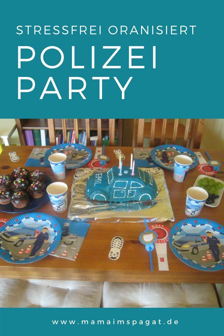 Photo of Polizeigeburtstag: Deko- und Spielideen für Kinder – mamaimspagat.de