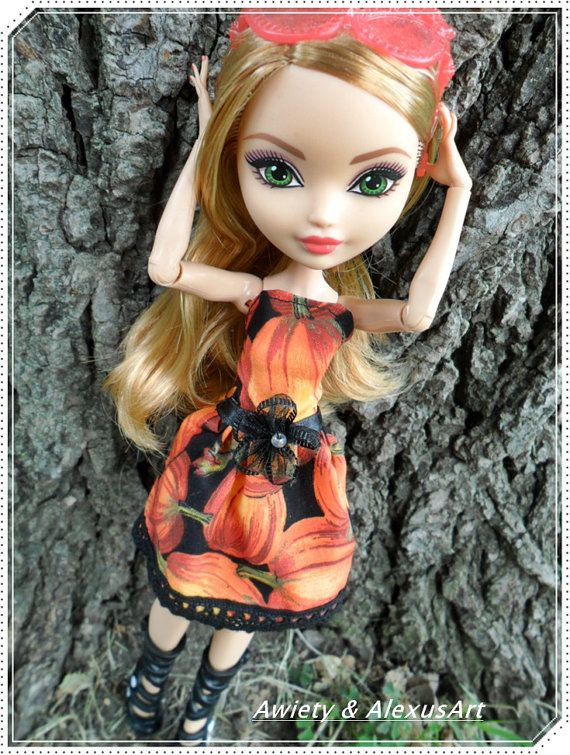 Stylish Pumpkin Spice Dress Dress ONLY Fits Monster or by awiety