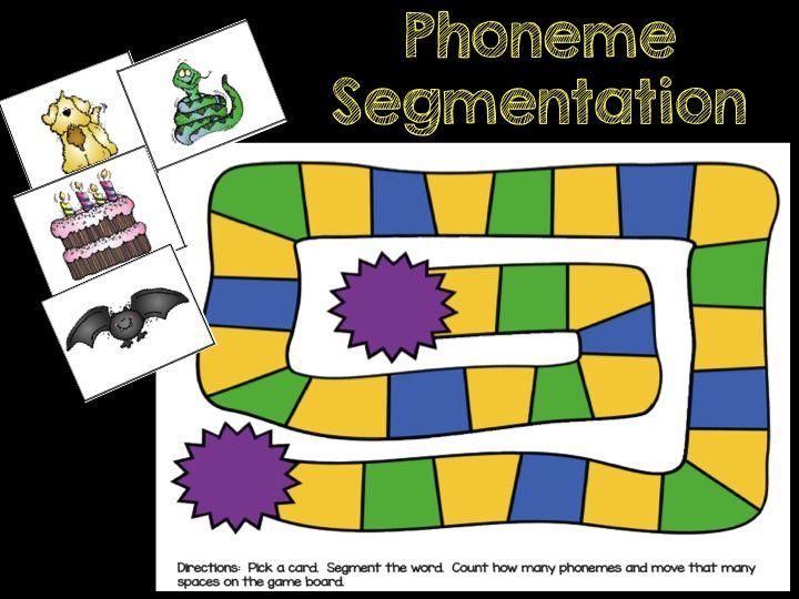 Phoneme Segmentation Activities Kindergarten Kolleagues