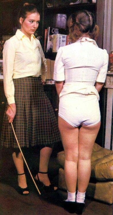 Japanese schoolgirl spanking