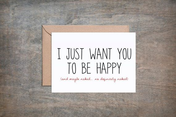 I just want you to be happy and maybe by simplysaidpaperie etsy i just want you to be happy and maybe by simplysaidpaperie valentine greeting cardsfunny m4hsunfo