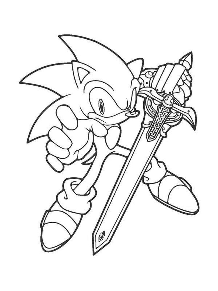 Free Printable Sonic The Hedgehog Coloring Pages For Kids Coloring Books Coloring Pages For Kids Coloring Pages For Teenagers