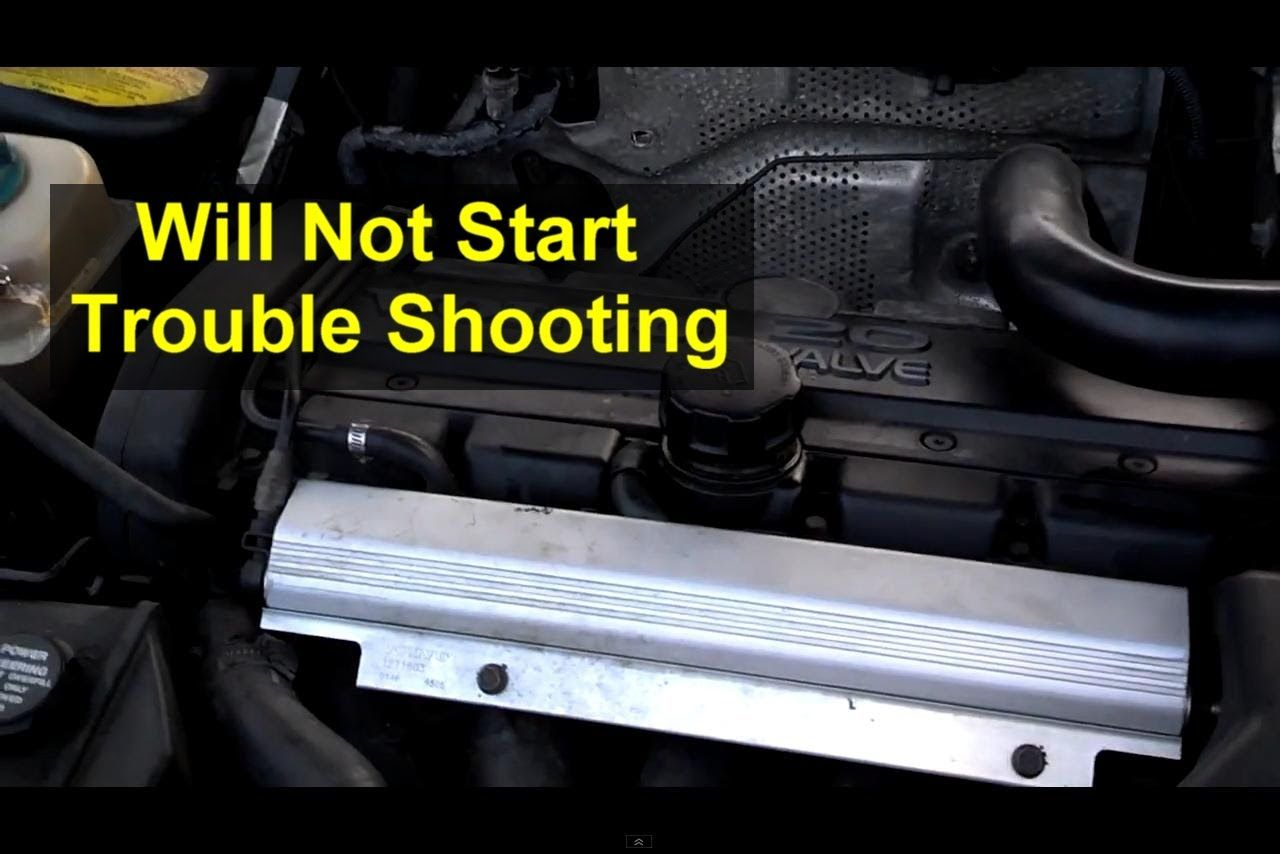 Car will not start trouble shooting guide auto repair