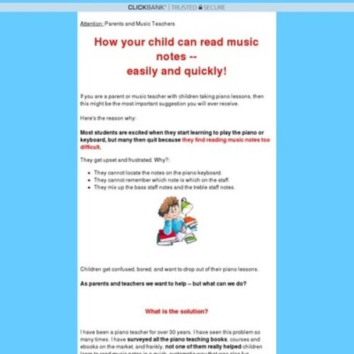 How to Read Music Notes for Beginners and Children ...