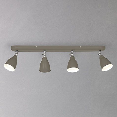 John lewis plymouth 4 led spotlight ceiling bar taupe plymouth buy john lewis plymouth 4 led spotlight ceiling bar online at johnlewis aloadofball Image collections