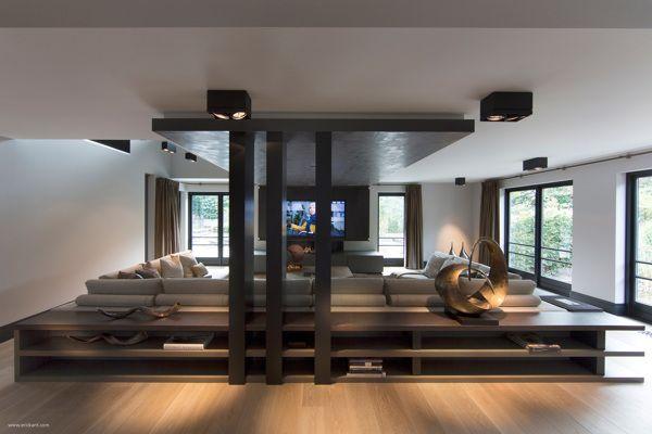 Sunken Living Room Design Having A Sunken Living Room Is A Great Way To Bring The Uniqueness And Freshness Sunken Living Room Living Room Designs Room Design
