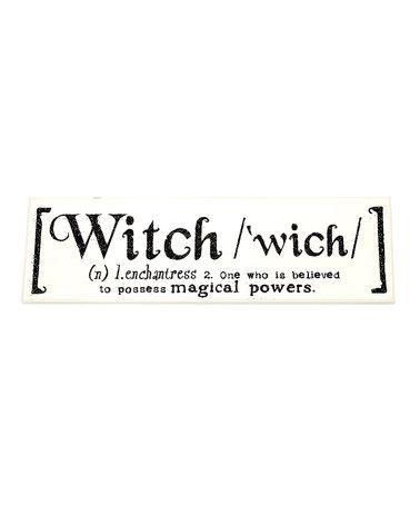 Witch' Definition Wall Art | Dreams of Hallowe'en | Pinterest ...