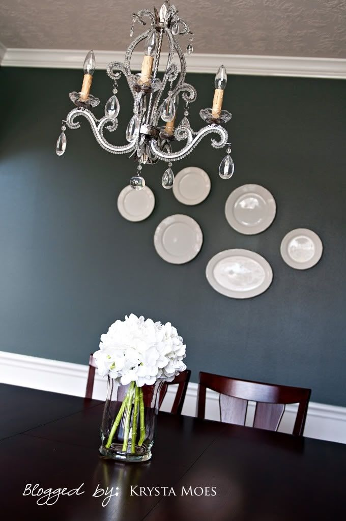 Sw Homburg Gray Dining Room Colors Dining Room Paint