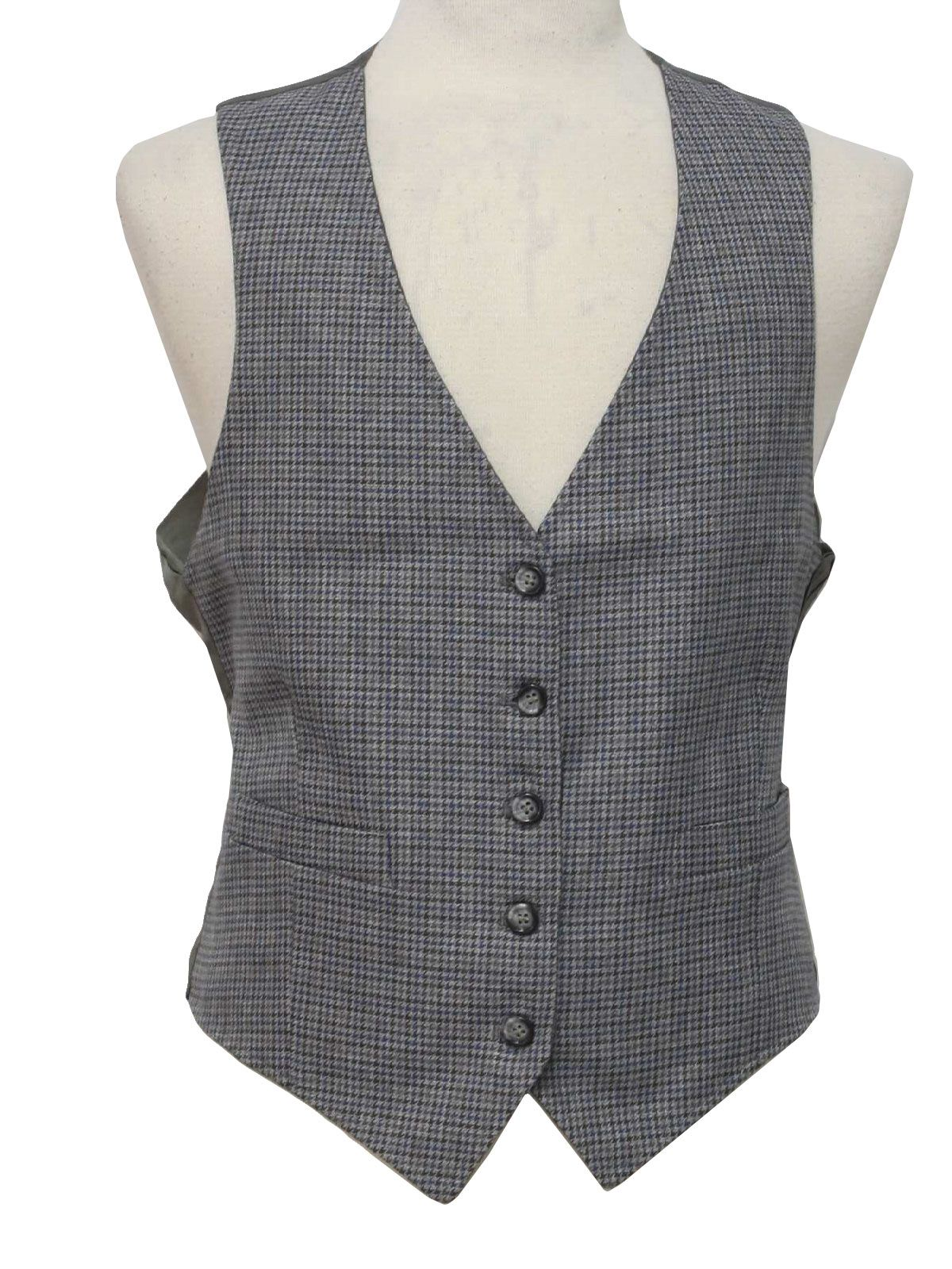 women vest patterns | Label- Mens grey, navy blue and dark brown ...
