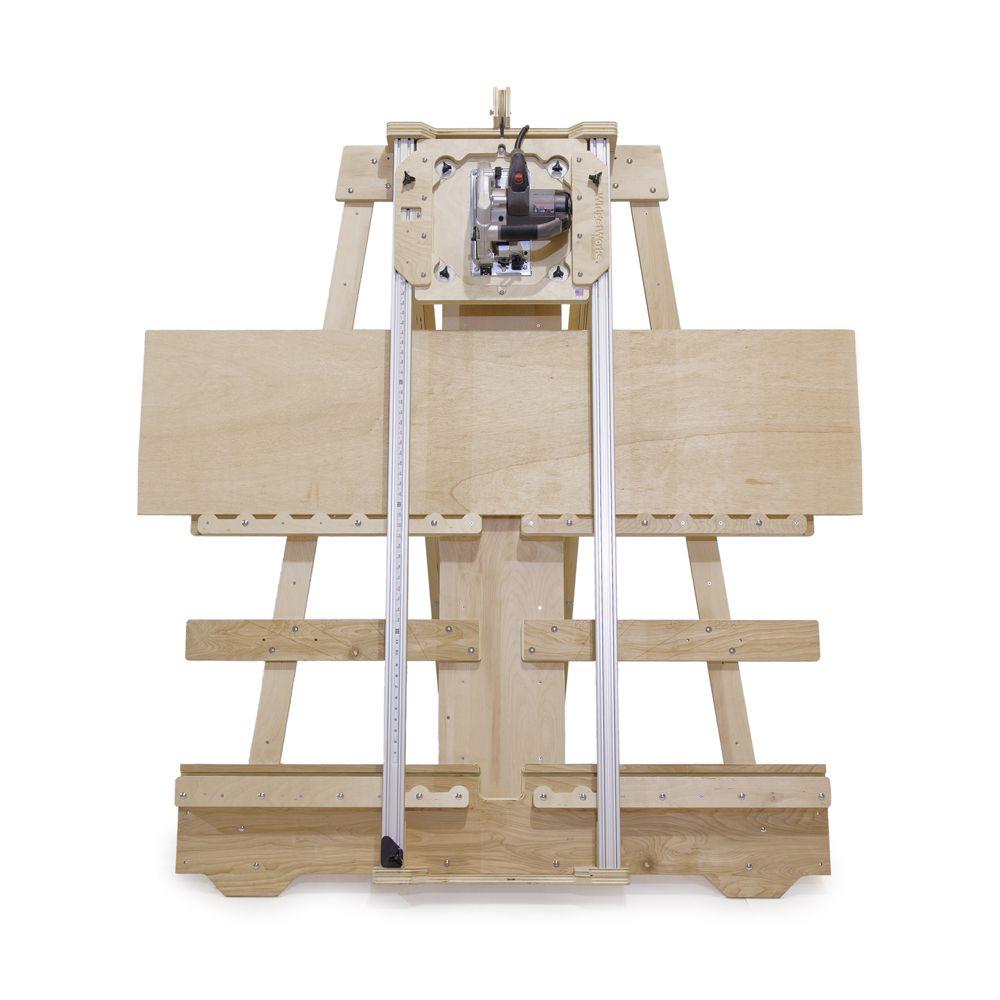 deluxe panel saw kit wall mount version ideas pinterest holzbearbeitung holz und werkstatt. Black Bedroom Furniture Sets. Home Design Ideas