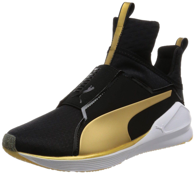 Puma Damen Fierce Gold Hohe Sneakers: : Schuhe