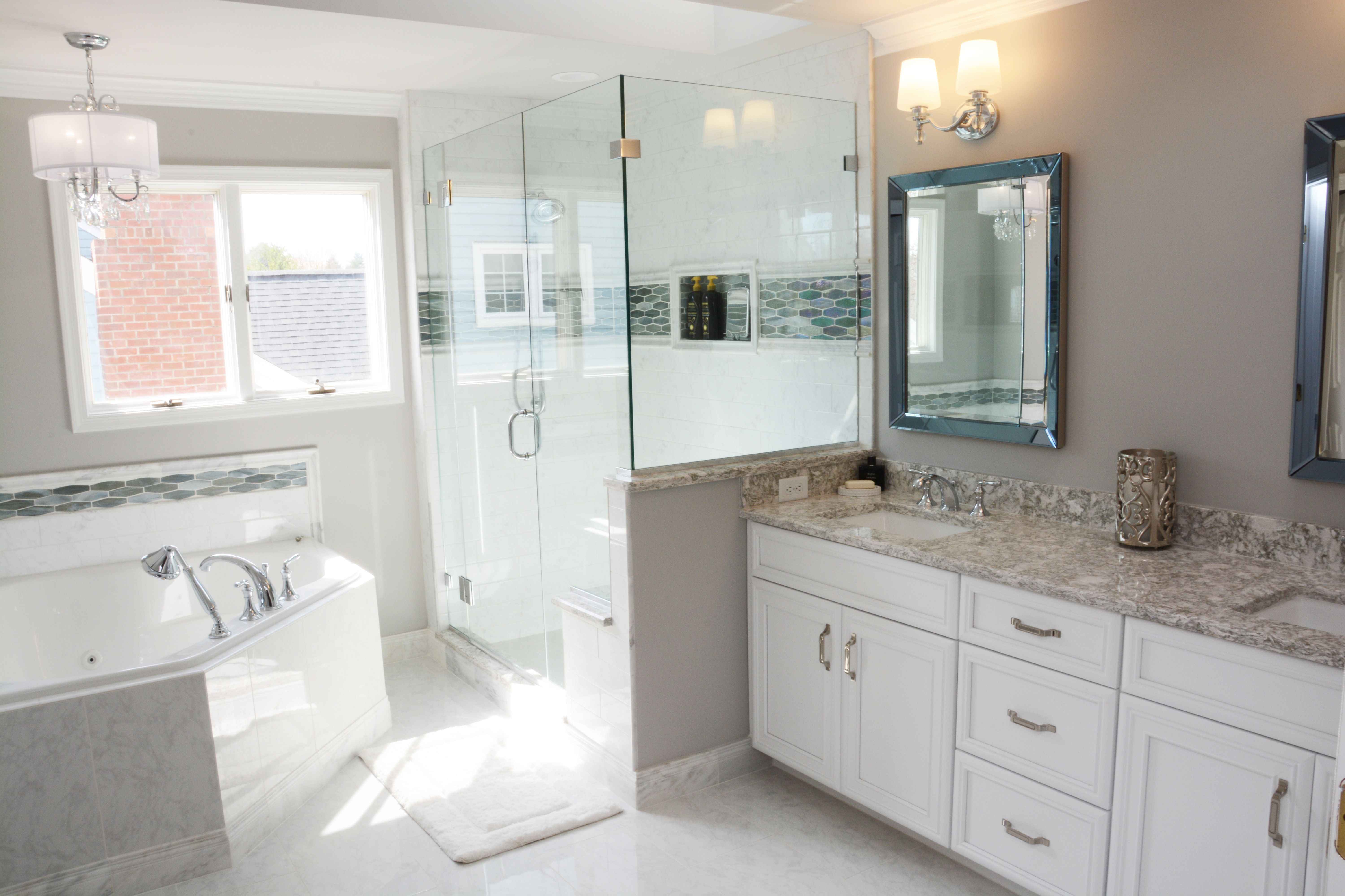 Bright White Master Bath | bath | Pinterest | Bath