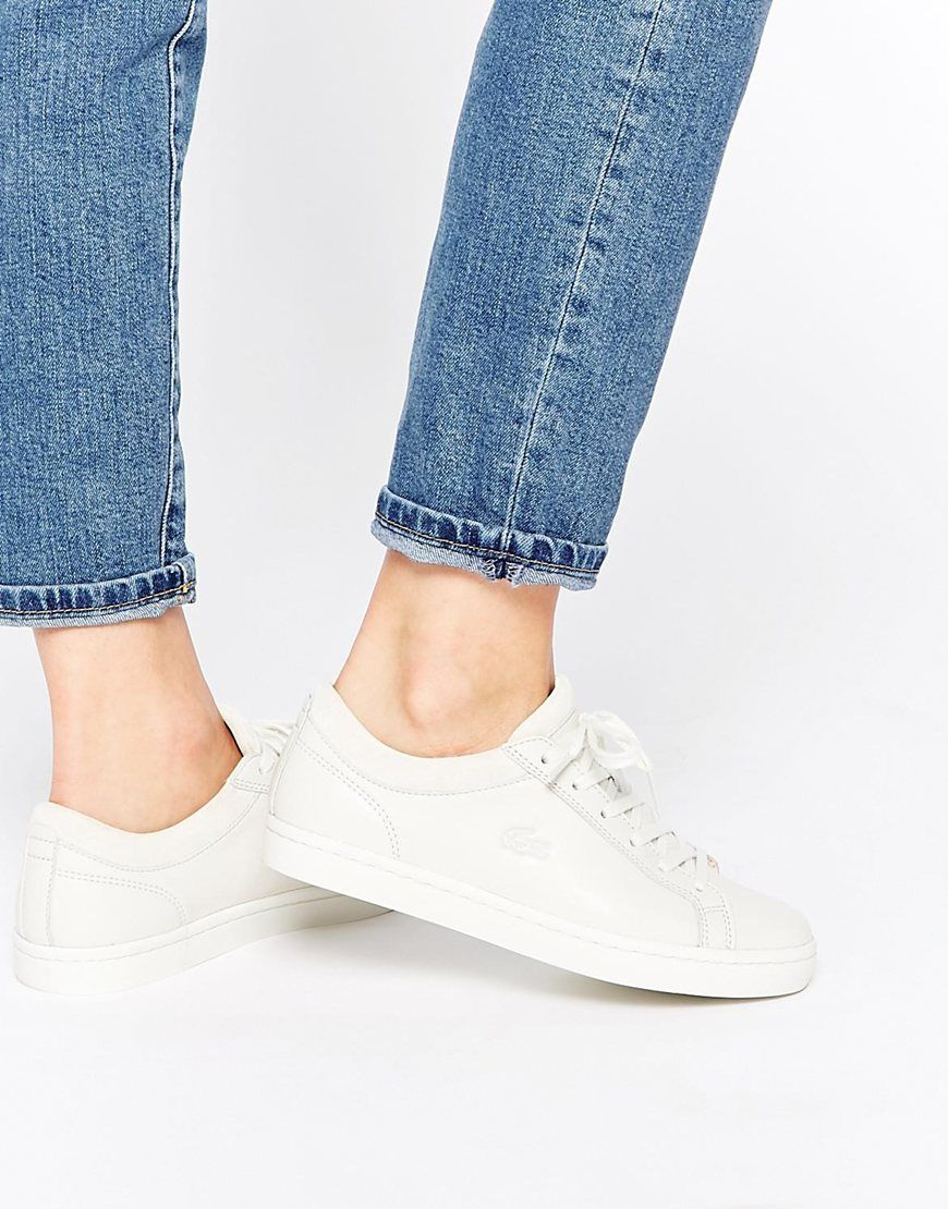 Buy Women Shoes / Lacoste Straightset W1 Trainers