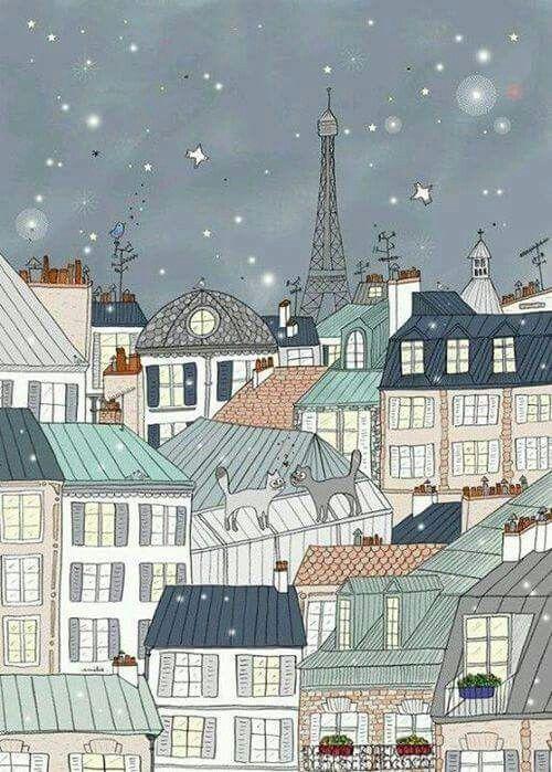 Bonne Nuit Paris | Travel - Paris | Pinterest | Bonne Nuit, Nuit Et