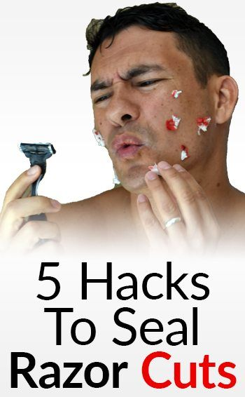 How To Get A Shaving Cut To Stop Bleeding Fast