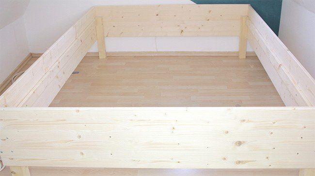 Bett bauen für Anfänger – ich habs getan und Bilder davon gemacht