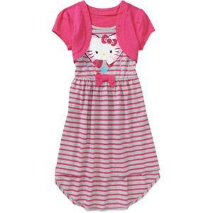 8a466294a Hello Kitty Girls' High Low Dress | stuff for kiara | Pinterest ...