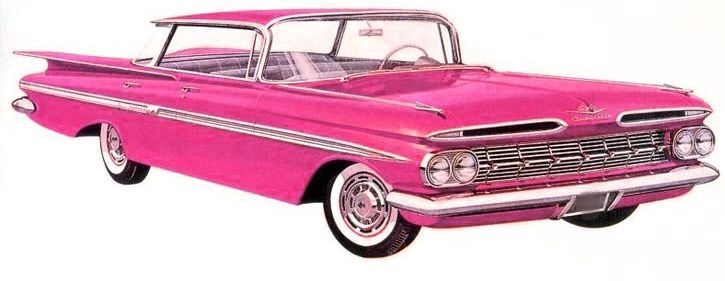 chevrolet photoshoped to be even more pink