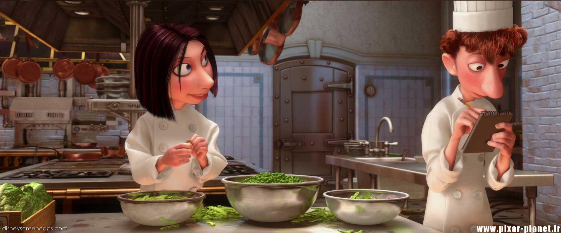 Colette Tatou & Alfredo Linguini   Disney   Ratatouille ...