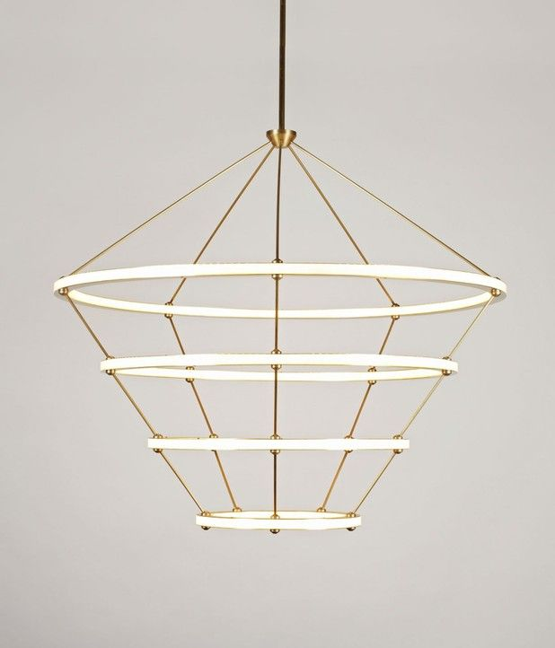 Halo Chandelier by Roll and Hill Designed by Paul Loebach with