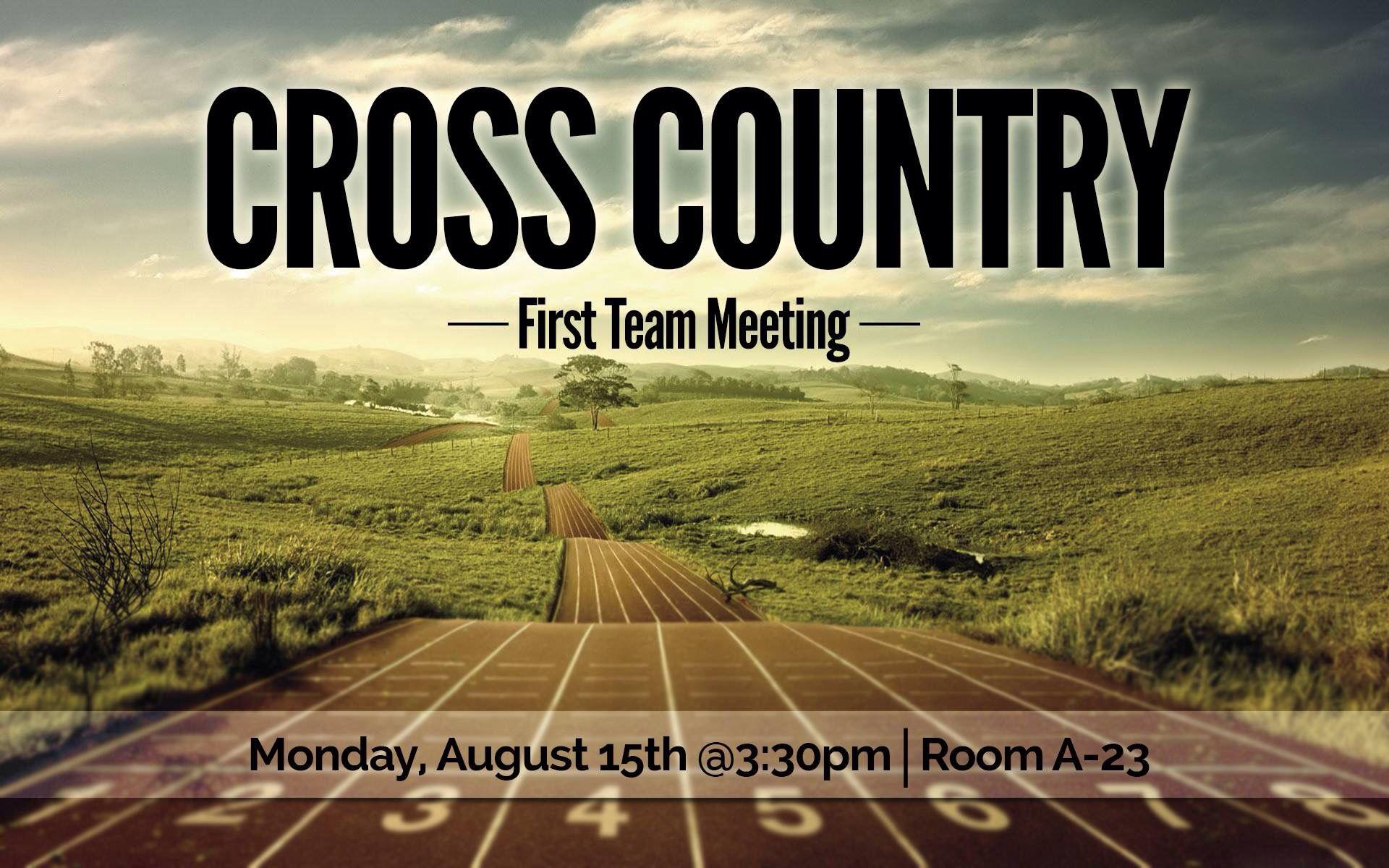 MVCS Cross Country