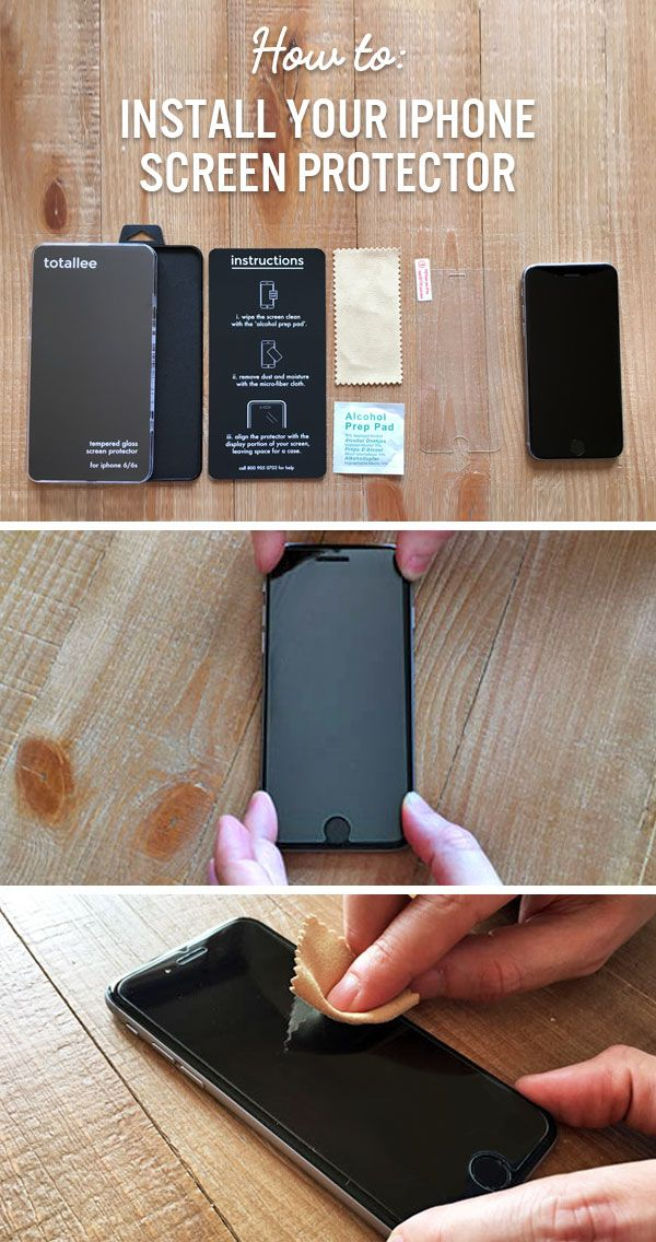 How To Install A Tempered Glass Screen Protector Screen