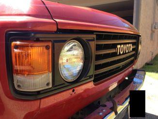 Fj60grillblackout Land Cruiser Toyota Land Cruiser Overland Vehicles