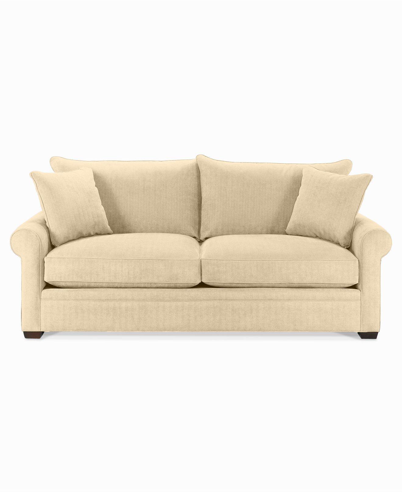 galileo cream microfiber queen sleeper sofa thomasville reclining gradschoolfairs