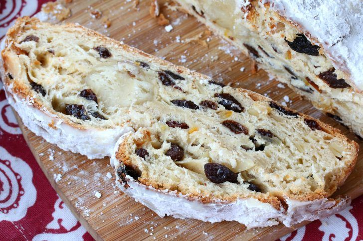 BEST Authentic Stollen (German Christmas Bread) Recipe Button