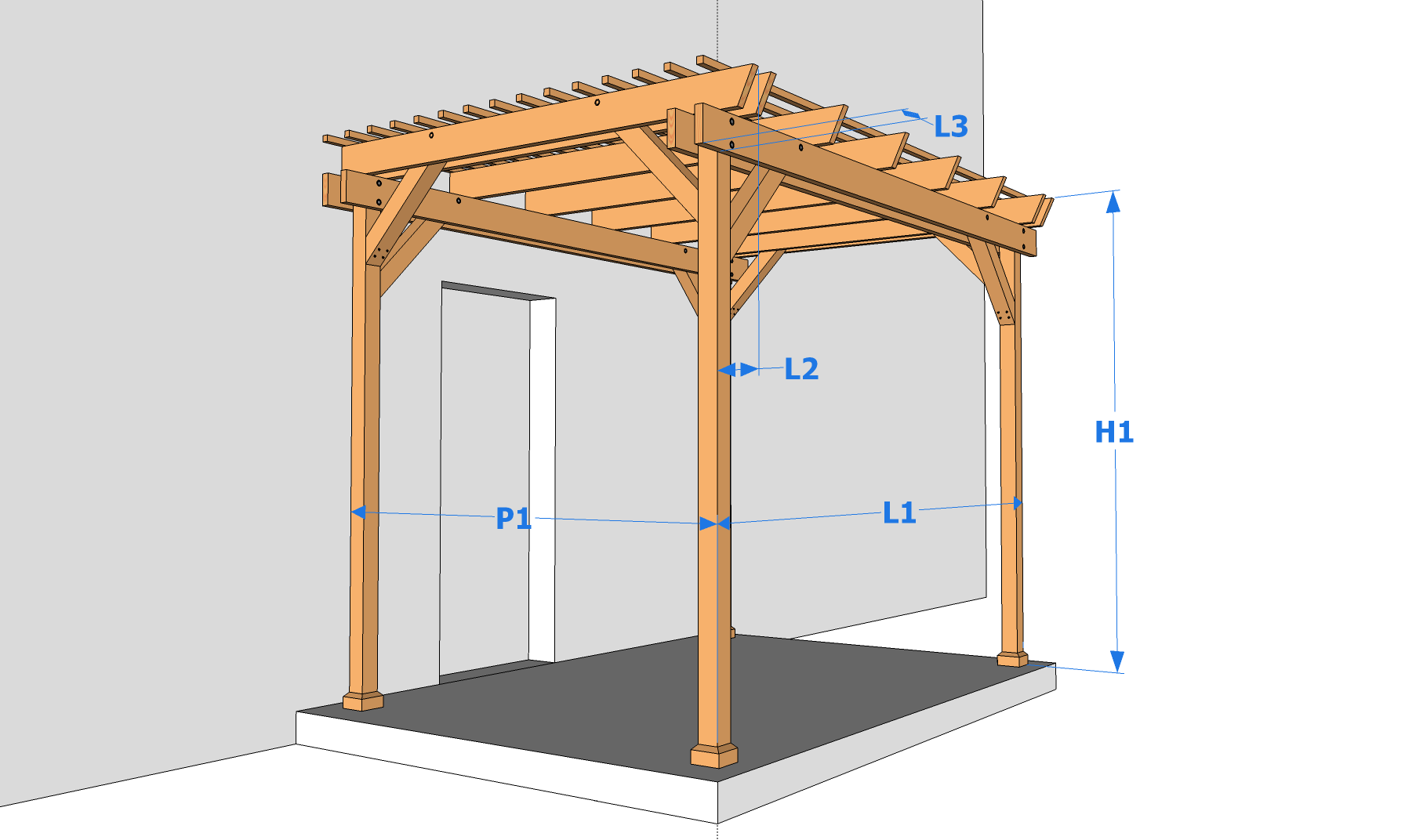 Construire Une Tonnelle En Bois